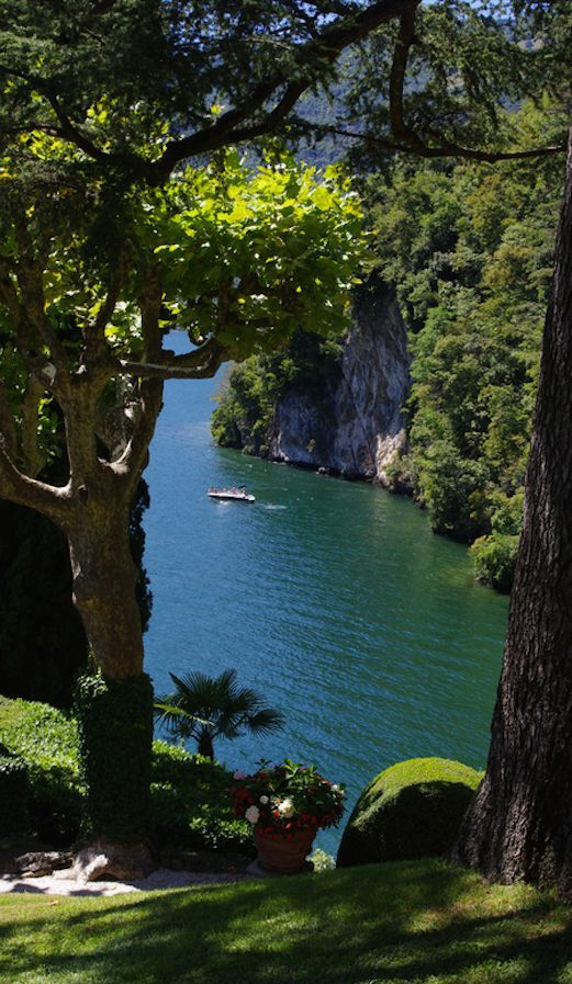 Lake Como in Lombardy, northern Italy