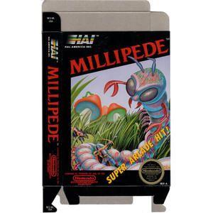 Millipede - Empty NES Box