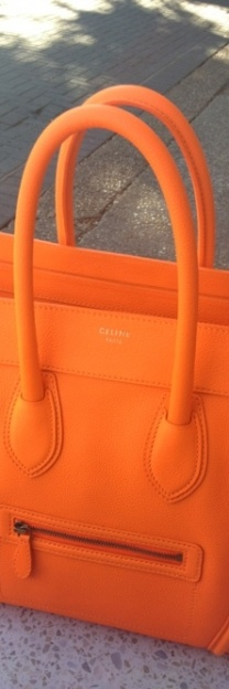 Dark Orange Purse #colorsoftheweek