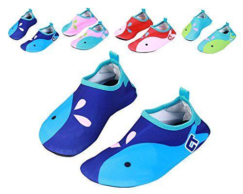Nachvorn Wetsuit Barefoot Skin Water Shoes for Kid's Women's Men's Aqua Socks Surf Pool Yoga Beach Swim Exercise,Dark Blue,S