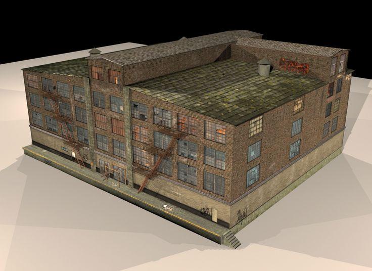manufacture_building, Leosmad S on ArtStation at…