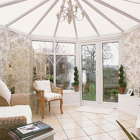 Traditional conservatory | Classic furniture | Decorating ideas | Image | Housetohome
