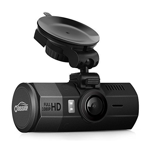 Oasser Car Dash Cam FHD 1920x1080P 32GB Dashboard Camera Recorder Dash Cam with G-Sensor 170Angle Night Version Loop Recording