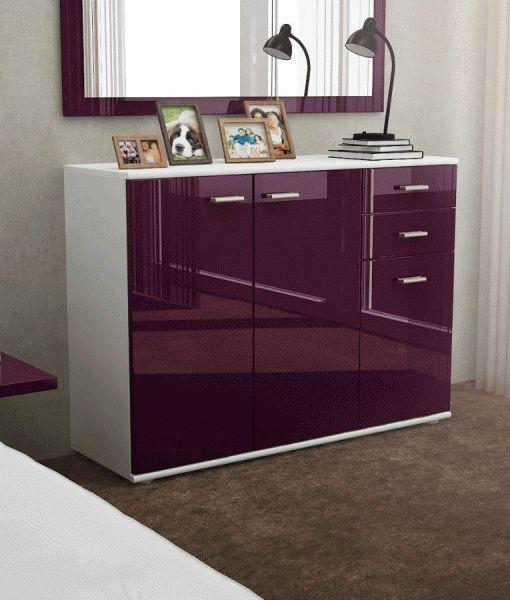 17 best ideas about buffet laqu on pinterest meuble tv laqu meuble tv no - Dressoir blanc laque ...