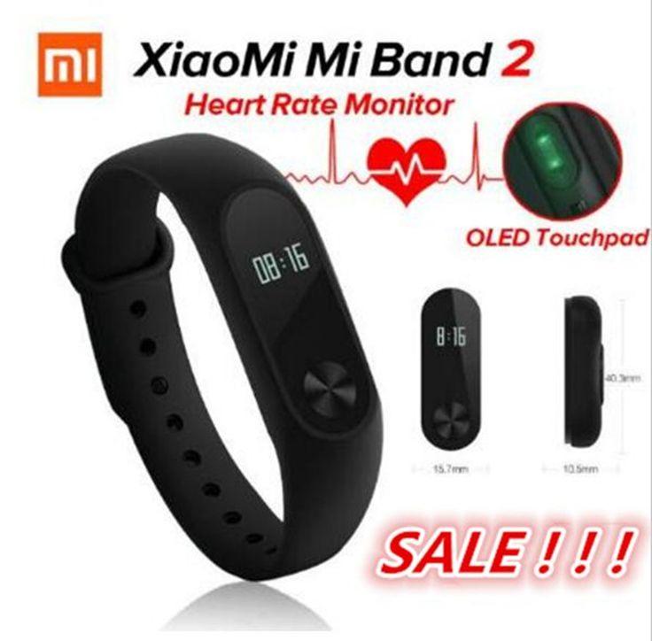 Original xiaomi mi banda 2 elegante pulsera de la pulsera miband 2 gimnasio rastreador android pulsera smartband monitor de ritmo cardíaco