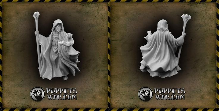 New Sorcerer in our store. Expect more... and more:) And remember... The waiting may seems eternity... But it's a kind of magic...  https://puppetswar.eu/product.php?id_product=626