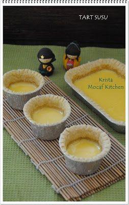 KRISTA MOCAF KITCHEN: Mocaf Pie Susu / Tart Susu / Milk Pie