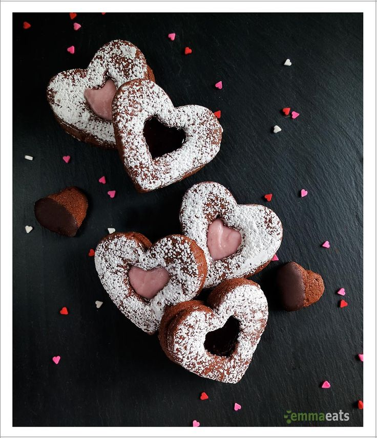 Love, love, love. Hugs and kisses. Red and pink. Sweets and chocolates. There are a bunch of entities synonymous with modern Valentine's Day. And, now these Chocolate Cinnamon Cookie Hearts equal V...