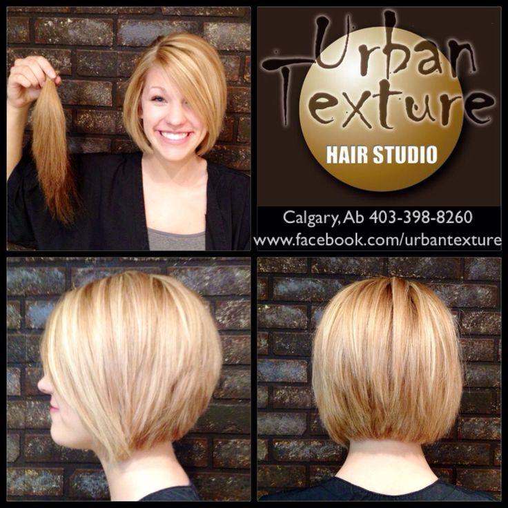Urban Texture Hair Studio 403-398-8260  www.facebook.com/urbantexture   #hair #salon #calgary #shorthair #blonde