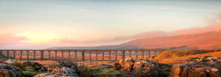 It may have been cold but we were lucky, the light was lovely shining onto and through the Ribblehead Viaduct and onto Whernside right of shot. Whernside is a mountain in the Yorkshire Dales in Northern England. It is the highest of the Yorkshire Three Peaks, the other two being Ingleborough and Pen-y-ghent.  This is a 2 shot pano taken with the Nikon D7100 & 50mm f/1.8 prime lens. Processing done in Lightroom CC.