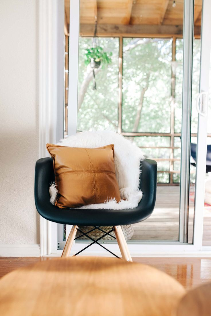 Rocking chair honey packaging ideas and cool things men buy - West Elm Bohemian Soutwestern Home