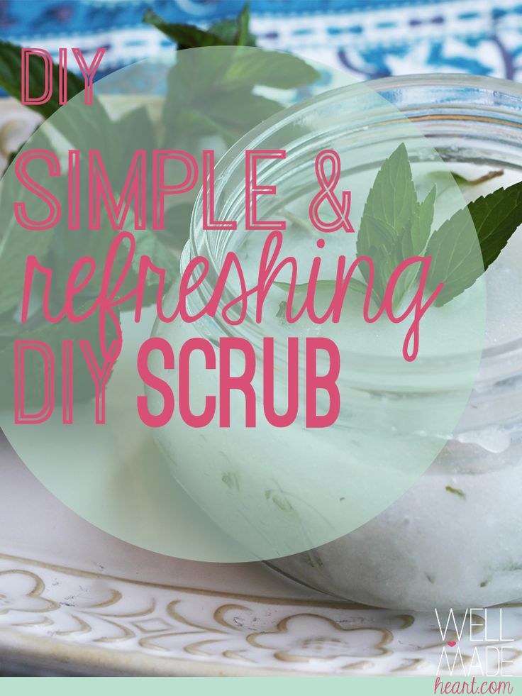 Enter the simplest DIY scrub you'll ever find. With three pretty basic ingredients you can get a great, quick and super refreshing scrub that'll make your skin feel awesome, give you some much needed energy in the mornings and help you feel overall refreshed and ready to tackle another season full of football and fall leaves.