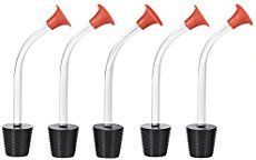 Mudder Hummingbird Feeder Tubes Stoppers - Make Your Own Feeders - Bird Feeder Replacement Parts (5 Pack)