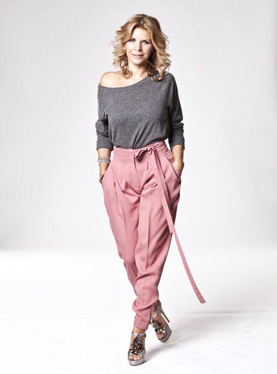 Actress Judit Schell #styledbyzipy #grey #use #celecrity #fashion