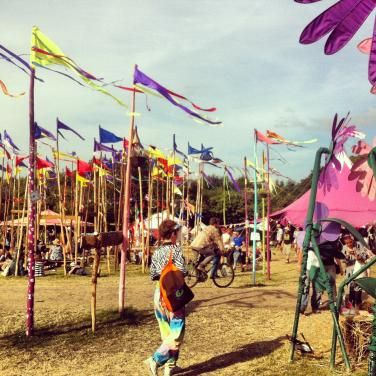 Glastonbury Festival (largest greenfield music and performing arts festival in the world) - Glastonbury, UK