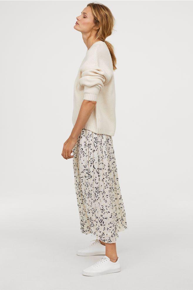 a432d36f1 Plisseret nederdel i 2019 | Spring / Summer style | Plisseret ...