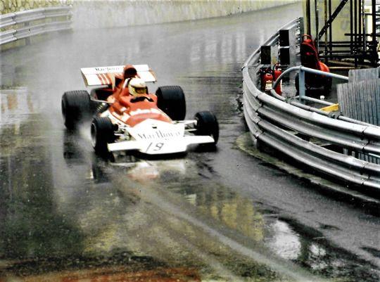 Howden Ganley BRM Monaco GP 1972