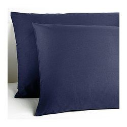 IKEA - DVALA, Pillowcase, 50x80 cm, , Cotton, feels soft and nice against your skin.