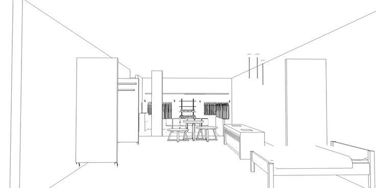Retail space concept via thewormroom.bputique