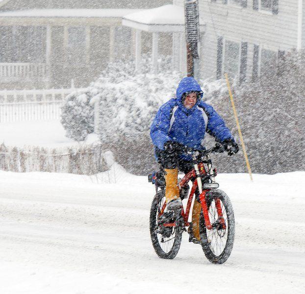 Snow e-biking on ProdecoTech Outlaw SS