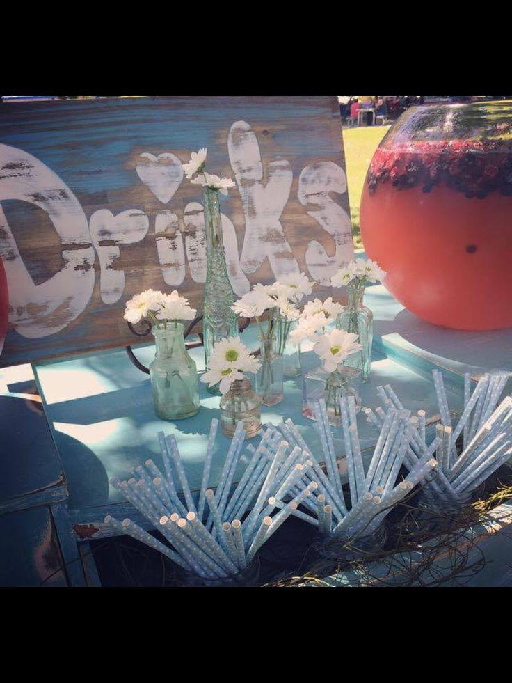 Pumch bar for your wedding day!!!