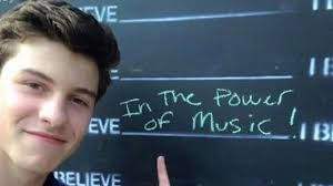 i believe in the power of music..and shawn of course
