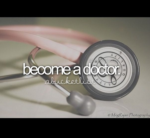 Can I become a doctor?