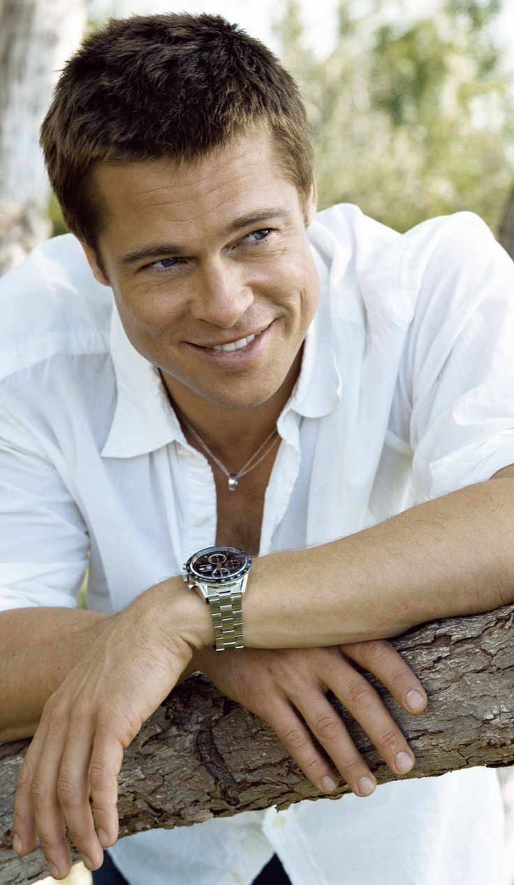 Brad Pitt all time fave would love to meet and interview. go out to dinner ;)
