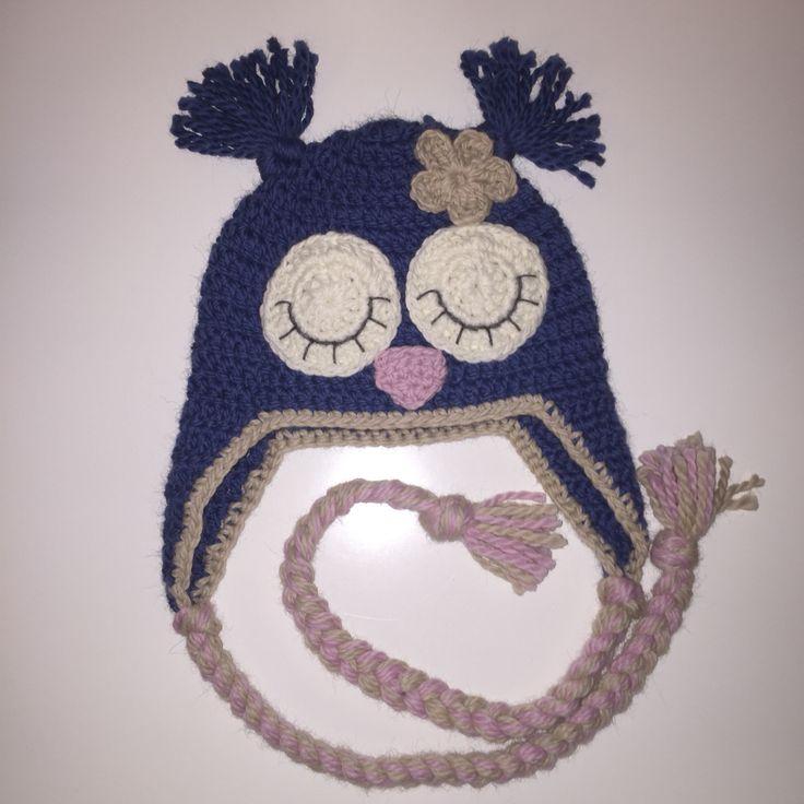 #Owlhat #uglelue #crochet #hekle #virkar #hækle
