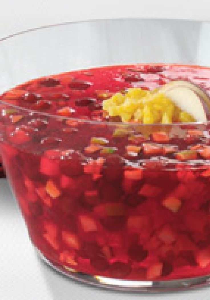 Good food recipes » Easy cranberry pineapple relish recipe