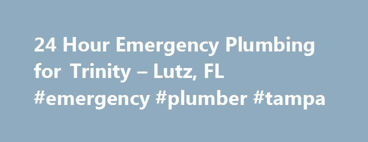 24 Hour Emergency Plumbing for Trinity – Lutz, FL #emergency #plumber #tampa http://solomon-islands.remmont.com/24-hour-emergency-plumbing-for-trinity-lutz-fl-emergency-plumber-tampa/  # 24 Hour Emergency Plumbing Services for Trinity, Tampa Lutz, FL 24 Hour Emergency Plumbing Services for Trinity, Tampa Lutz, FL You need immediate action when you have a plumbing emergency. For 24-hour emergency plumbing services, trust the Clean Plumbers. Call us immediately if you experience any of the…