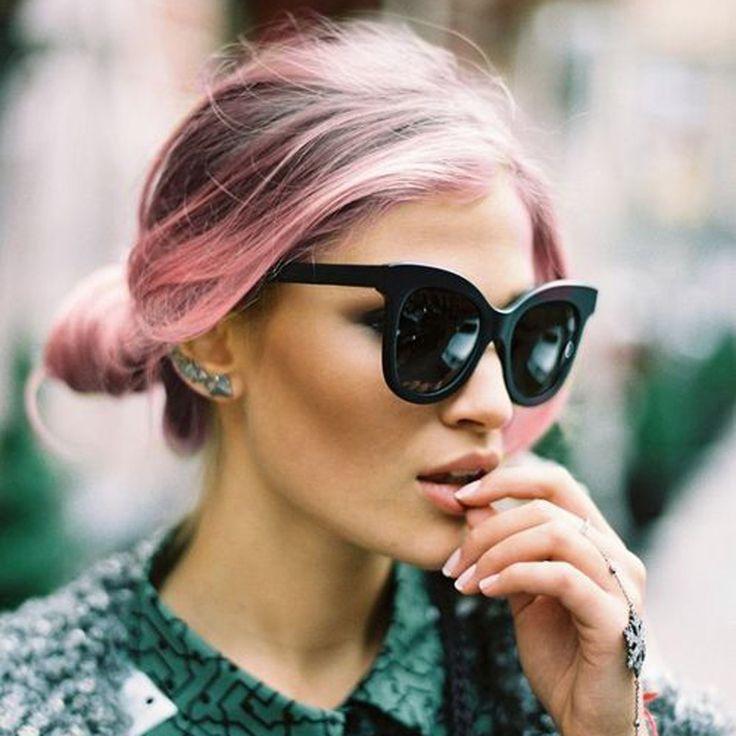 Cheveux rose : découvrez comment la coloration rose est devenue la couleur de cheveux préférée des filles branchées ...