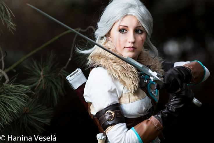 Ciri - The Witcher III Juriet Cosplay