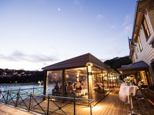Weddings venue: Reception held at Ripples Chowder Bay.