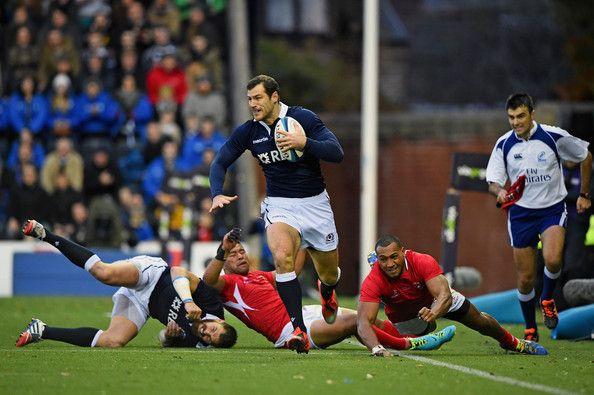 Scotland v Tonga - International Match