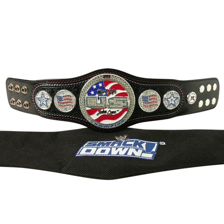 Molded from the actual belt, the WWE John Cena Word Life U.S. Championship  mini belt