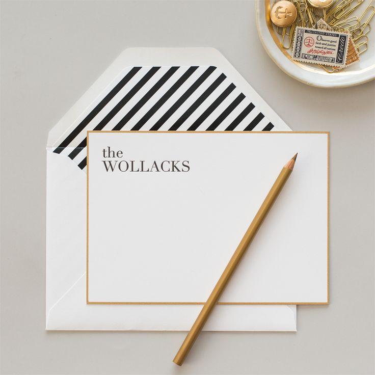 letterpress stationery