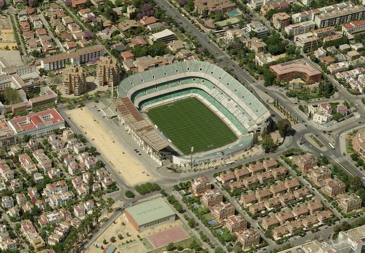 Benito Villamarín Stadium (Sevilla, Spain) By Antonio González Cordón