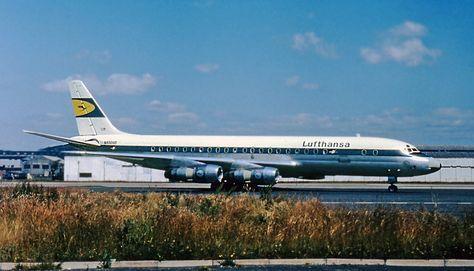 Vintage Lufthansa DC-8