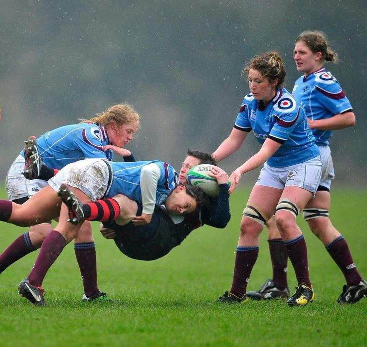 Who Says Girls Can't Play Rugby?!!! #rugby #wrugby #tackle