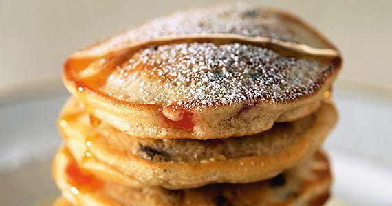 Racuszki śniadaniowe zsosem pigwowym (4 porcje)