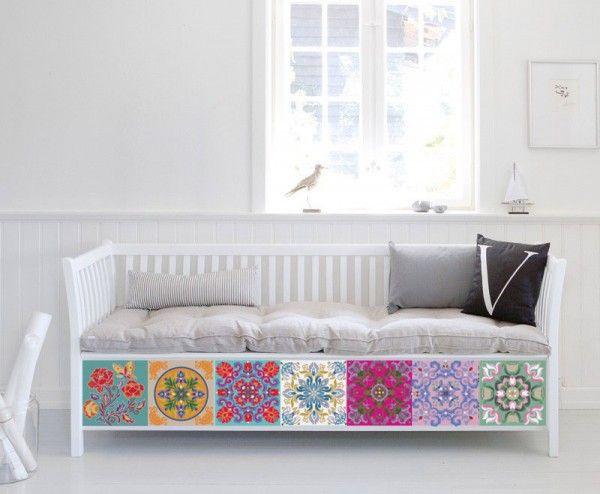 1000 id es propos de carrelage adhesif sur pinterest. Black Bedroom Furniture Sets. Home Design Ideas