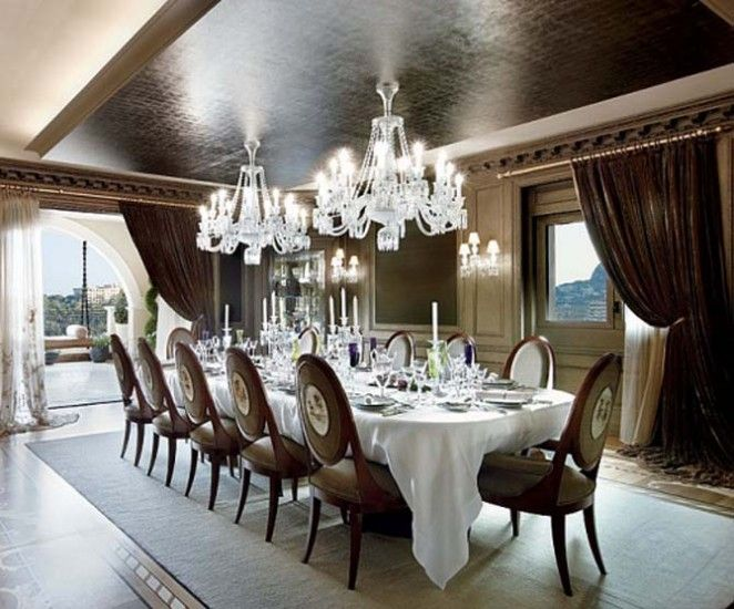 12 best Extravagant Dining rooms images on Pinterest | Dining rooms ...