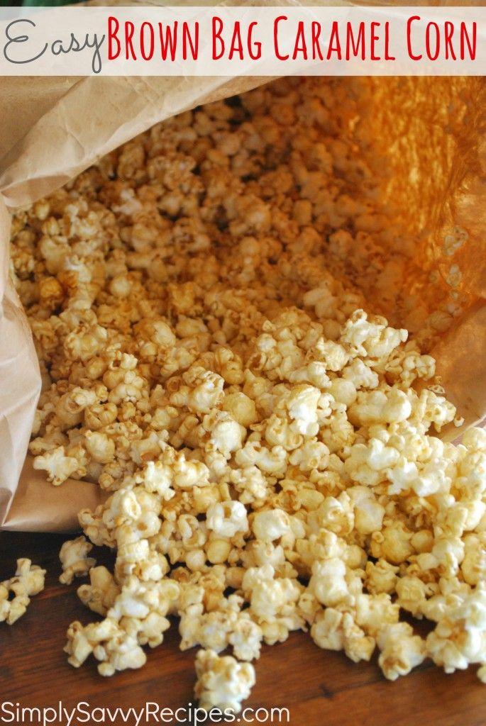 Brown Bag Caramel Corn | Recipe