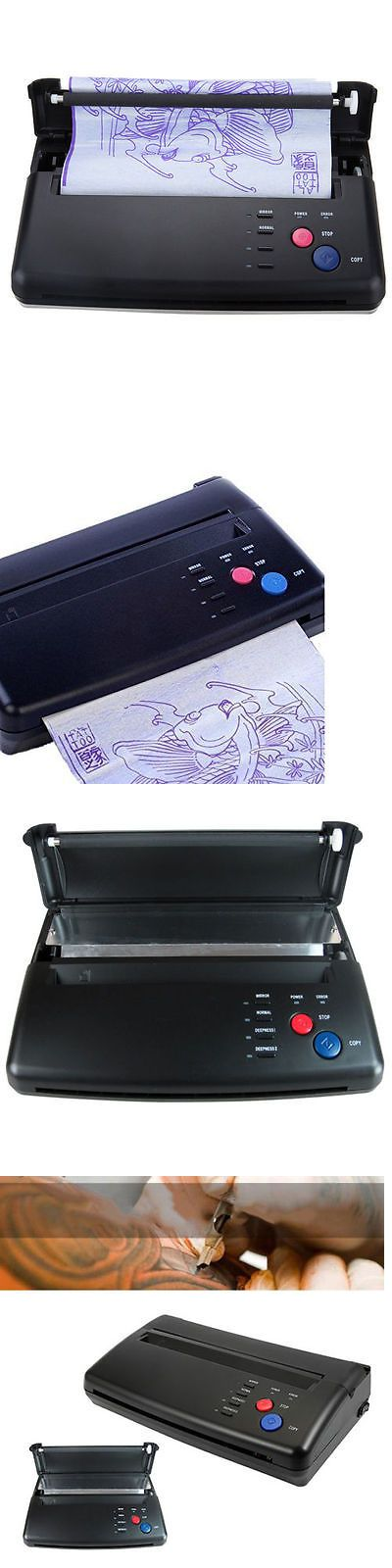 Tattoo Supplies: New Tattoo Stencil Maker Transfer Machine Flash Thermal Copier Printer Supplies -> BUY IT NOW ONLY: $119.98 on eBay!