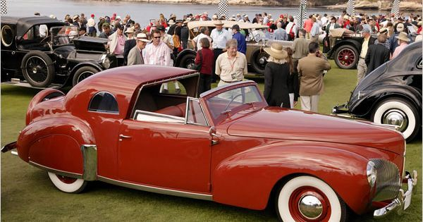 Frank Lloyd Wright and the Automobile - His 1940 Lincoln, painted Cherokee Red See more about Cherokee, Lincoln Continental and Lincoln.