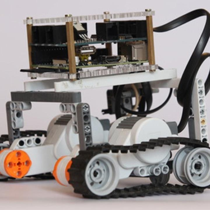 """Make a LEGO Robot With a Raspberry Pi - the """"Pi"""" that we can actually make!"""