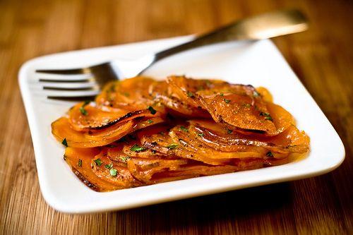 Candied Sweet Potatoes....  I LOVE SWEET POTATOES: Candy Limes Sweet Potatoes, Sweet Potatoesyam, Thanksgiving Recipe, Vegans Side, Delicious Vegans, Candy Sweet, Potatoes Vegans, Vegans Food, Vegans Thanksgiving