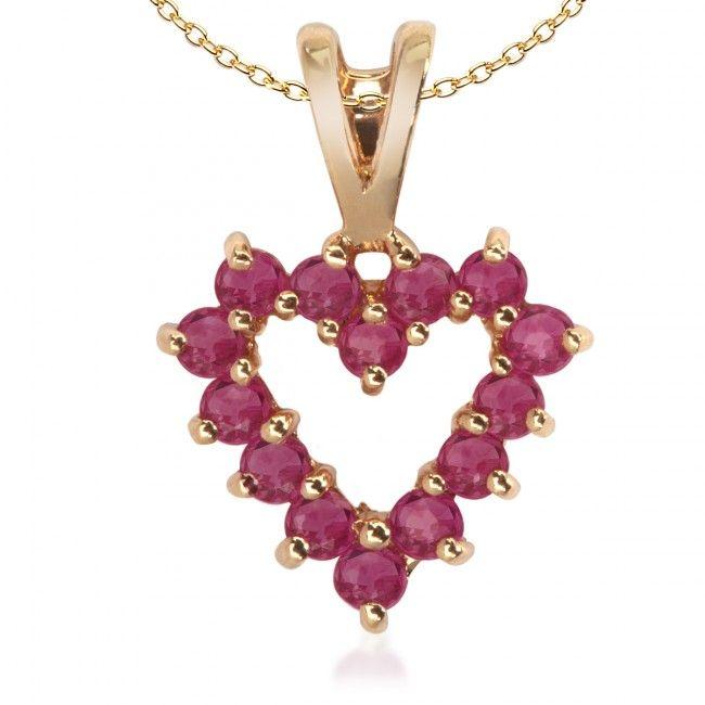 Złota Zawieszka z Rubinami, 355,50 PLN, www.Bejewel.me/zlota-zawieszka-866 #jewellery #gold #bejewelme #bjwlme #shoponline #accesories #pretty #style