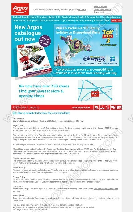 Company:    Argos     Subject:    Your new Argos catalogue - out now!              INBOXVISION providing email design ideas and email marketing intelligence.    www.inboxvision.com/blog/  #EmailMarketing #DigitalMarketing #EmailDesign #EmailTemplate #InboxVision  #SocialMedia #EmailNewsletters